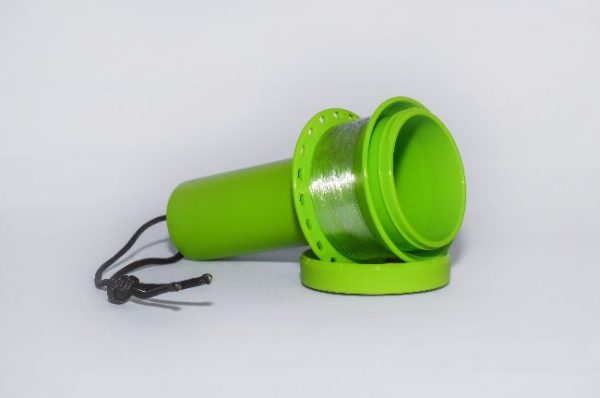 Jurassic Fishing Reel in Green Open